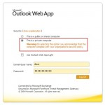 Outlook Web App: Attachments may only be viewed as a Web page