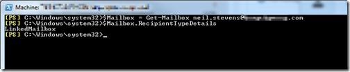 Get-Mailbox